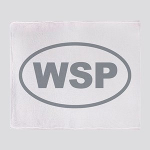 WSP Gary Euro Oval Throw Blanket
