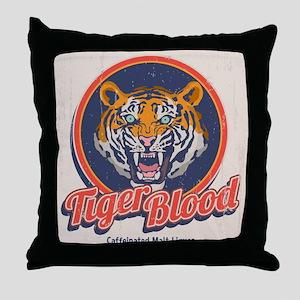 Tiger Blood Throw Pillow