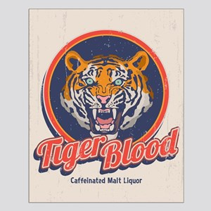 Tiger Blood Small Poster