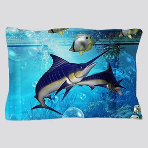 Awesome underwater world Pillow Case