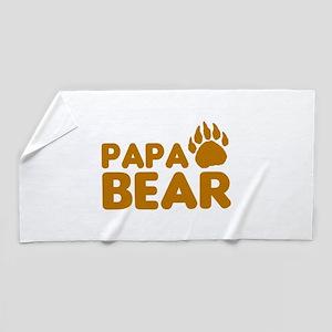 Papa Bear Beach Towel