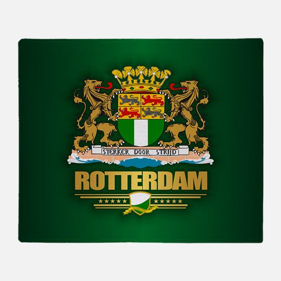 Rotterdam Throw Blanket