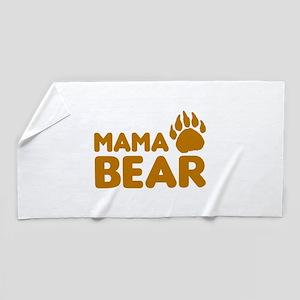Mama Bear Beach Towel