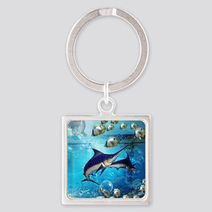 Awesome underwater world Keychains
