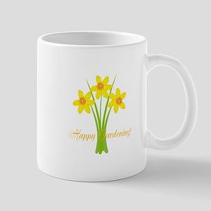 Watercolor Daffodils Gardener Mug