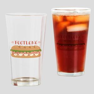 Foot Long Sub Drinking Glass