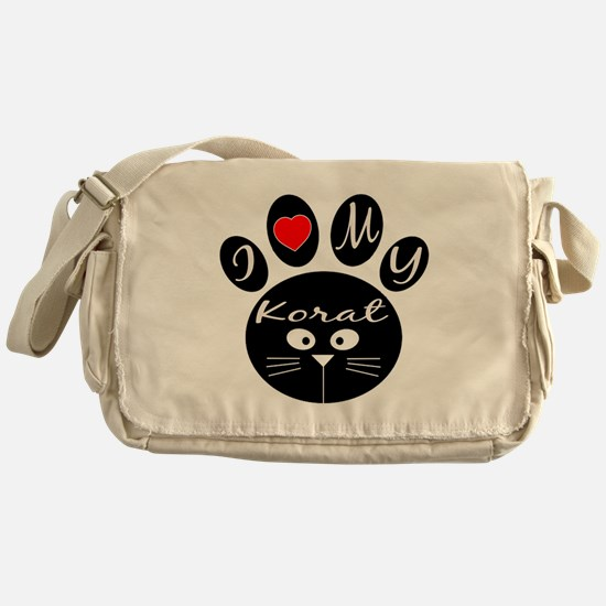 I love my Korat Messenger Bag