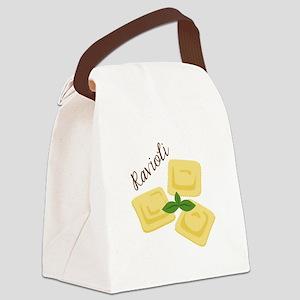 Ravioli Canvas Lunch Bag
