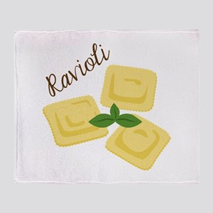 Ravioli Throw Blanket