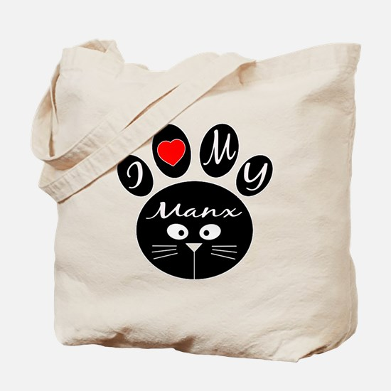 I love my Manx Tote Bag
