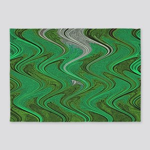 Emerald Green 5'x7'Area Rug