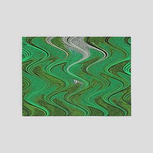 Emerald Green 5'x7'Area Rug