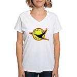 USS Currituck (AV 7) Women's V-Neck T-Shirt