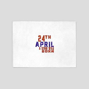 24 April A Star Was Born 5'x7'Area Rug