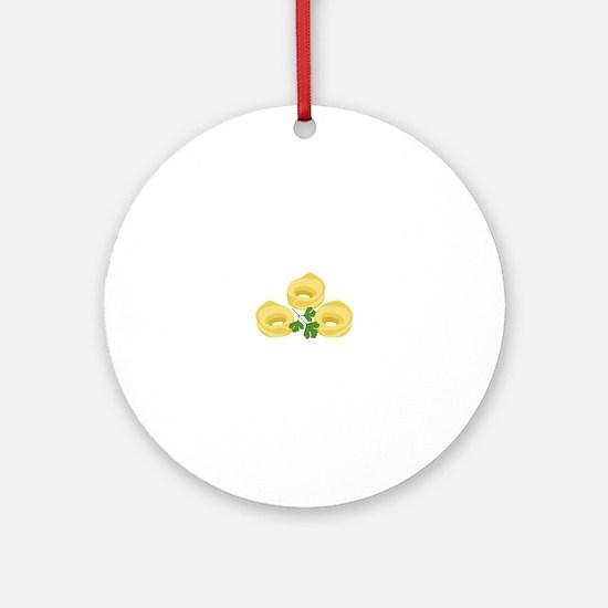 Tortellini Round Ornament