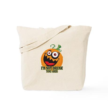 Drunk Pumpkin Tote Bag