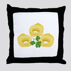 Tortellini Throw Pillow