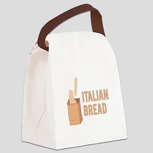 Italian Bread Canvas Lunch Bag