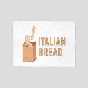 Italian Bread 5'x7'Area Rug