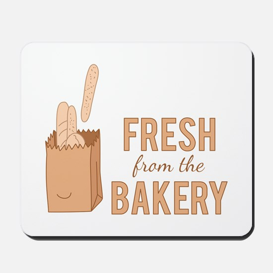 Bakery Fresh Mousepad