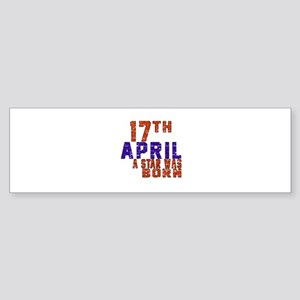 17 April A Star Was Born Sticker (Bumper)