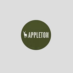Deer: Appleton, Wisconsin Mini Button