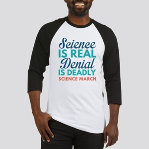 Science Is Real Baseball Jersey