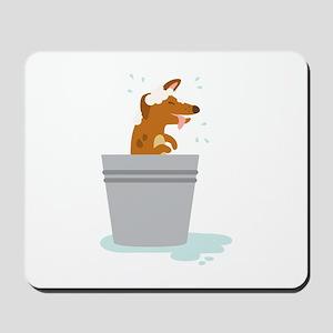 Dog Bath Mousepad