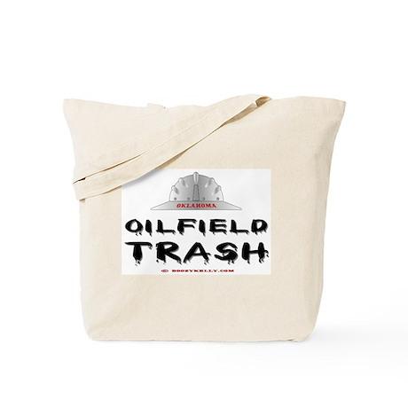 Oklahoma Oilfield Trash Tote Bag