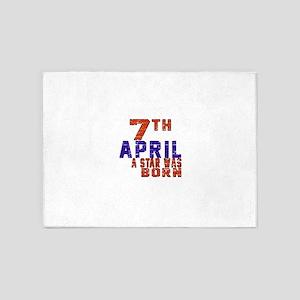 07 April A Star Was Born 5'x7'Area Rug