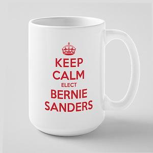 Keep Calm Elect Bernie Sanders Mugs