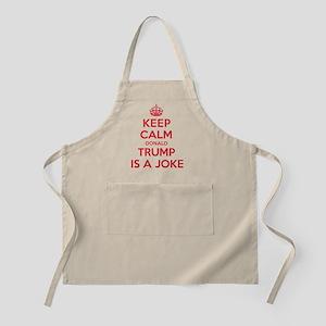 Keep Calm Trump is a Joke Apron