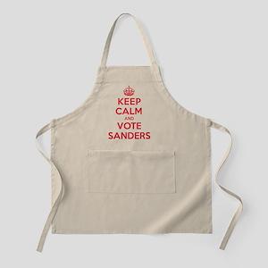 Keep Calm Vote Sanders Apron
