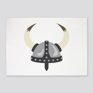 Viking Helmet 5'x7'Area Rug