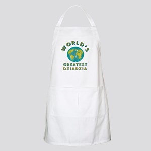 World's Greatest Dziadzia Light Apron