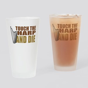 harp-touchdie Drinking Glass