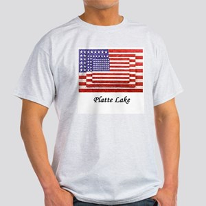 3 Flags July 4th Light T-Shirt