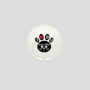 I love my Russian White Mini Button