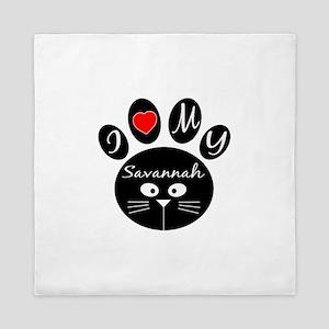 I love my Savannah Queen Duvet