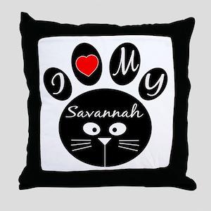 I love my Savannah Throw Pillow