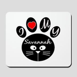 I love my Savannah Mousepad