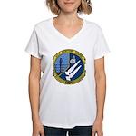 USS Norton Sound (AVM 1) Women's V-Neck T-Shirt