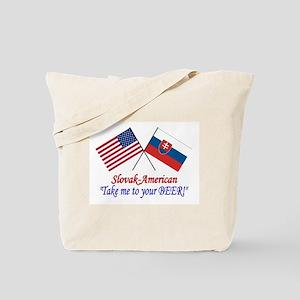 Slovak/American 1 Tote Bag