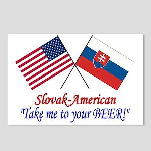 Slovak/American 1 Postcards (Package of 8)