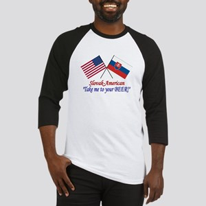 Slovak/American 1 Baseball Jersey