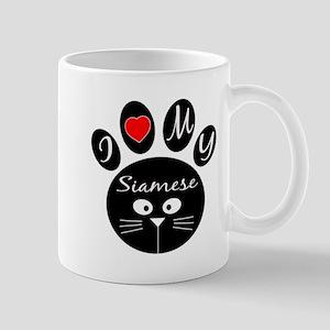 I love my Siamese Mug