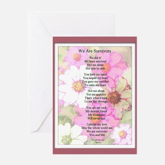 Survivor Poem Greeting Card