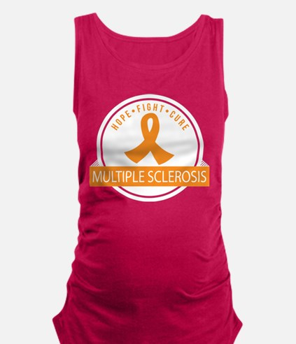 MS Hope Fight Multiple Sclerosis Maternity Tank To