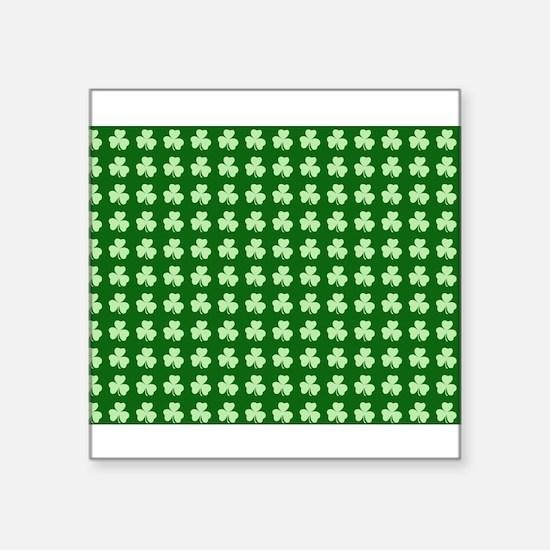 Shamrock Pattern Sticker