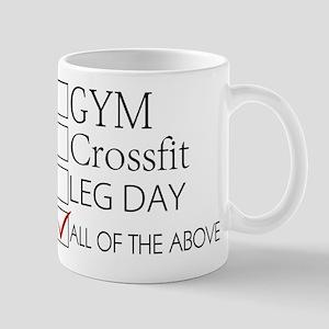 Gym Leg Day Mugs